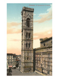 Giotto's Bell Tower, Florence, Italy Prints