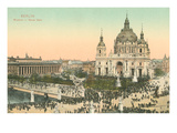 Museum, Cathedral, Berlin, Germany Prints