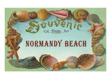 Souvenir from Normandy Beach, New Jersey Prints