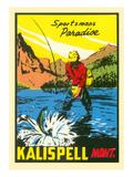 Sportsman's Paradise, Kalispell, Montana Prints