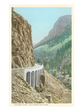 Golden Gate, Yellowstone National Park Poster