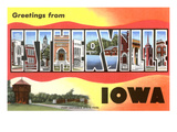 Greetings from Estherville, Iowa Posters