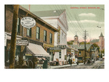 Central Street, Bangor, Maine Poster