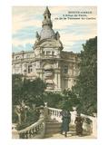 Hotel Du Paris, Monte Carlo, Monaco Prints