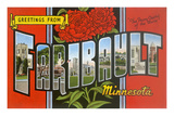 Greetings from Faribault, Minnesota Prints