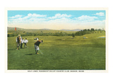Penobscott Valley Country Club, Bangor, Maine Prints