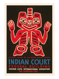 Indian Court Poster Print