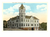 Town Hall, Littleton, New Hampshire Print