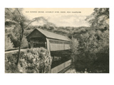 Covered Bridge, Keene, New Hampshire Poster