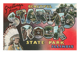 Greetings from Beautiful Starved Rock State Park, Illinois Posters