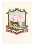 State Seal of New Hampshire Prints