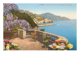View of Amalfi Coast, Italy Prints