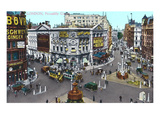 Piccadilly Circus, London, England Prints