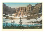 Iceberg Lake, Glacier Park, Montana Posters