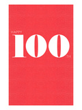 Happy 100th Pósters