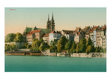 Basel, Switzerland from the Rhein Poster