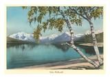 Lake Mcdonald, Glacier Park, Montana Prints