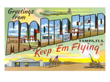 Greetings from Macdill Field, Florida Prints