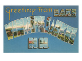 Greetings from Lake Winnipesaukee, New Hampshire Prints
