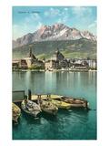 Mt. Pilatus, Lucerne, Switzerland Posters