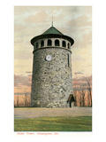 Stone Water Tower, Wilmington, Delaware Posters
