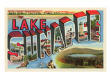 Greetings from Lake Sunapee, New Hampshire Prints