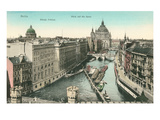 Vintage Overview of Berlin, Germany Prints