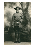 Doughboy with Bugle, World War I Print