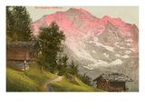 Jungfrau, Swiss Alps Prints