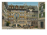 Hotel Des Balances, Lucerne, Switzerland Art