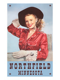 Cowgirl, Northfield, Minnesota Prints