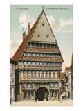 Knochenhauer Amtshaus, Hildesheim, Germany Posters