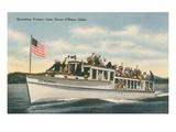 Excursion Cruiser, Lake Coeur d'Alene, Idaho Prints