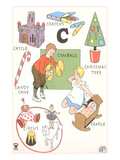 Learning the Alphabet, C Affiches