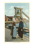 Typical Dutch Costumes, Volendam, Holland Prints