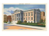 Courthouse, Louisvile, Kentucky Posters