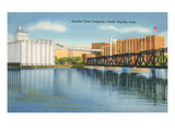 Quaker Oats Factory, Cedar Rapids, Iowa Posters