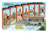Greetings from Cordele, Georgia Poster