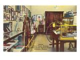 Interior, Mark Twain House, Hannibal, Missouri Posters