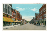 Avenue G, Ft. Madison, Iowa Prints