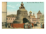 The Great Bell, Moscow, Russia Prints