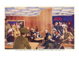 World War II USO Center, New York City Print