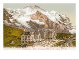 Swiss Alps, Jungfrau and Kleine Schneidegg Prints