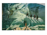 Grindenwald Ice Cave, Switzerland Prints
