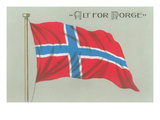 Alt for Norge, Norwegian Flag Poster