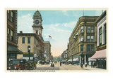 Main Street, Dubuque, Iowa Prints