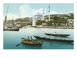 Istanbul from the Golden Horn, Turkey Print