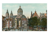Old Amsterdam, Holland Art