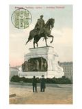 Andrassy Memorial, Budapest, Hungary Prints