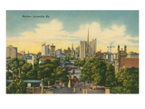 Skyline, Louisville, Kentucky Poster